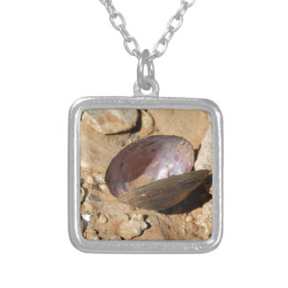 Clam Shell Silver Plated Necklace