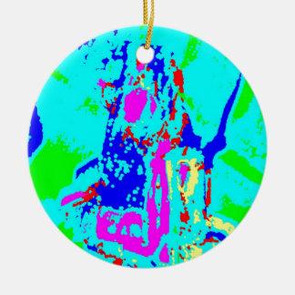 Clamp Brass J Ornament