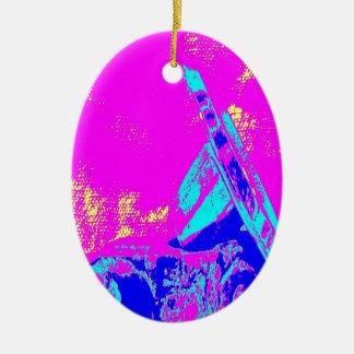 Clamp Brass M Ornament