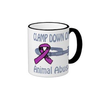 Clamp Down On Animal Abuse Mug
