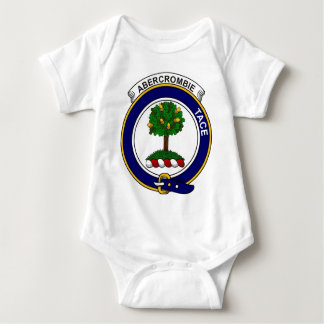 Clan Abercrombie Badge Baby Bodysuit