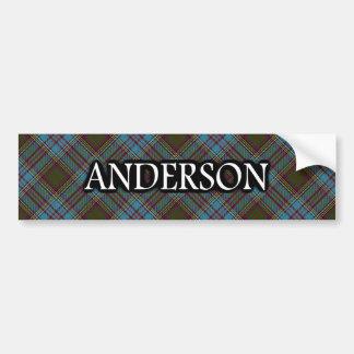 Clan Anderson Scottish Tartan Bumper Sticker