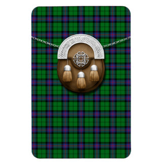 Clan Armstrong Tartan And Sporran Magnet