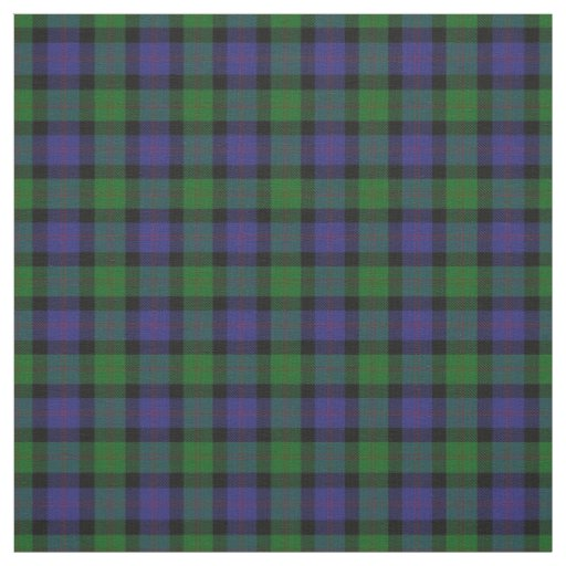 Clan Blair Scottish Tartan Plaid Fabric