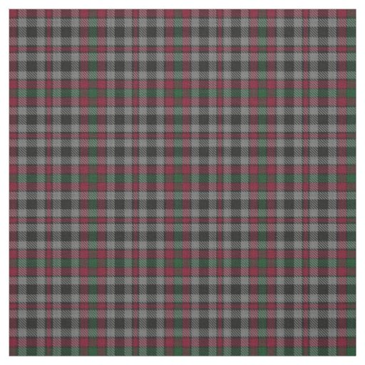 Clan Borthwick Scottish Tartan Plaid Fabric