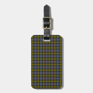 Clan Bowie Tartan Luggage Tag
