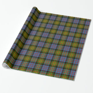 Clan Bowie Tartan Wrapping Paper