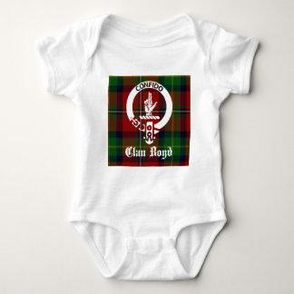 Clan Boyd Crest Tartan Baby Bodysuit