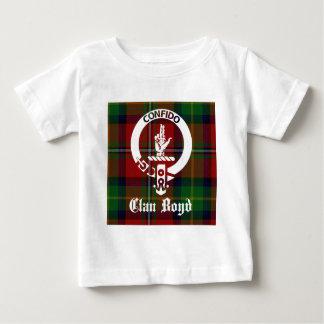 Clan Boyd Crest Tartan Baby T-Shirt