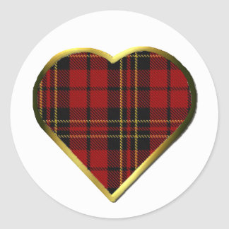 Clan Brodie Heart Envelope Seal
