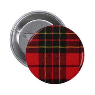 Clan Brodie Tartan 6 Cm Round Badge