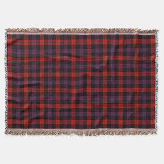 Clan Brown Tartan Throw Blanket