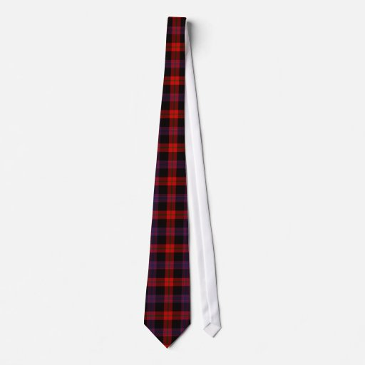 Clan Brown Tartan Tie