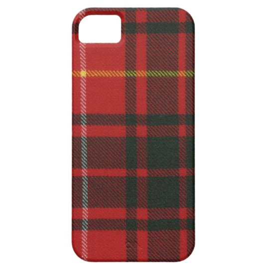 Clan Bruce Tartan Case For The iPhone 5
