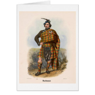 Clan Buchanan Card