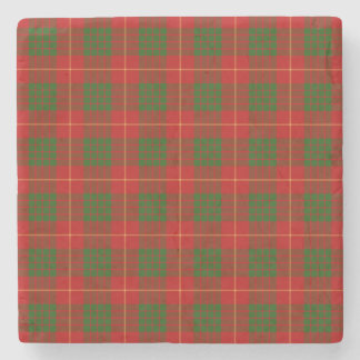 Clan Cameron Tartan Stone Coaster