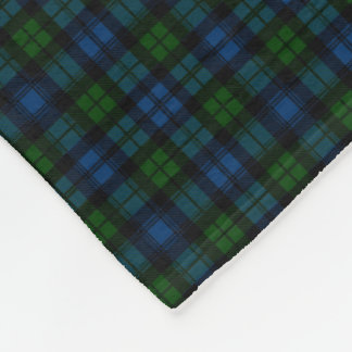 Clan Campbell Military Tartan Fleece Blanket