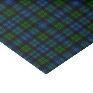 Clan Campbell Military Tartan Tissue Paper