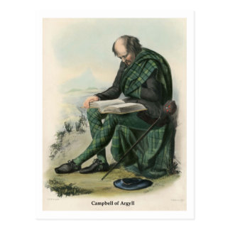 Clan Campbell of Argyll Postcard