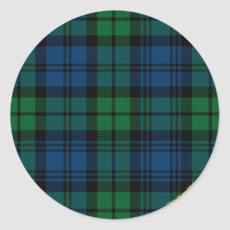 Clan Campbell Round Sticker