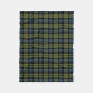 Clan Campbell Tartan Fleece Blanket