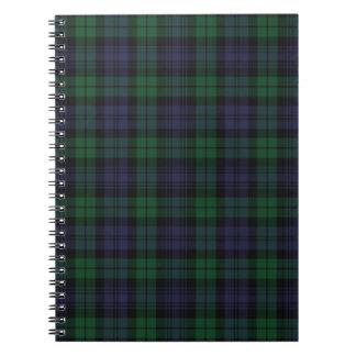 Clan Campbell Tartan Notebook