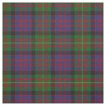 Clan Carnegie Scottish Tartan Plaid Fabric