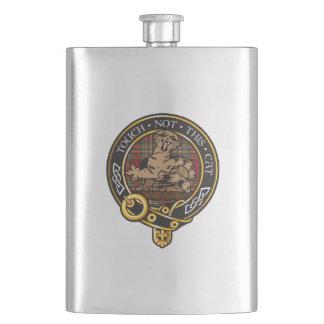 Clan Chattan Crest Hip Flask