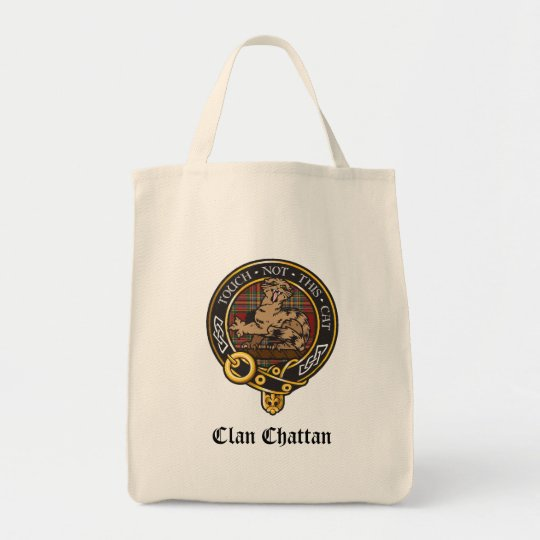 Clan Chattan Crest Tote Bag