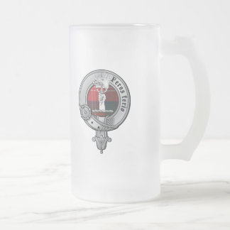 Clan Chisholm Frosted Beer Mug
