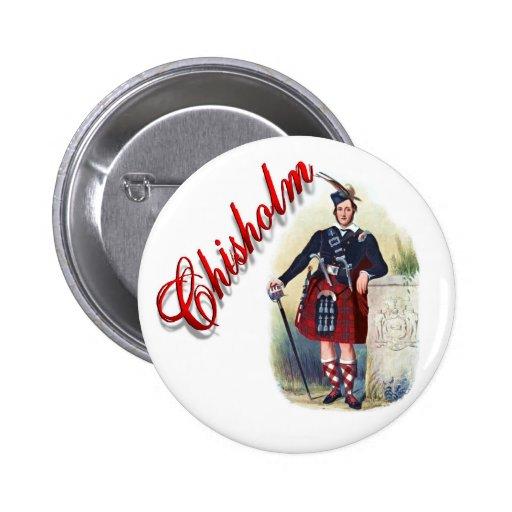 Clan Chisholm Scottish Dream Button