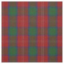 Clan Chisholm Scottish Tartan Plaid Fabric