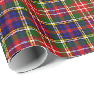 Clan Christie Tartan Plaid Pattern Wrapping Paper