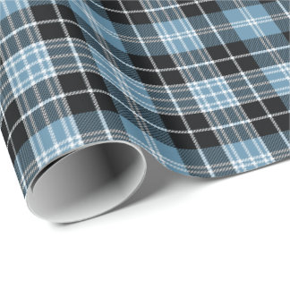 Clan Clark Tartan Plaid Pattern Wrapping Paper