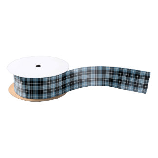 Clan Clark Tartan Satin Ribbon