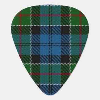 Clan Colquhoun Sounds of Scotland Tartan Guitar Pick