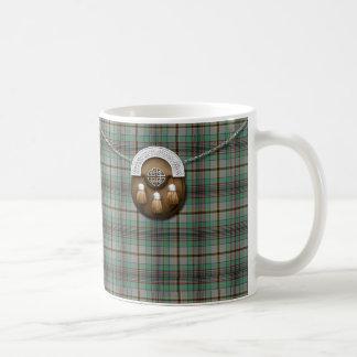 Clan Craig Tartan And Sporran Coffee Mug