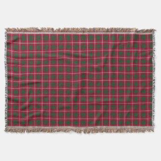 Clan Crawford Tartan Throw Blanket