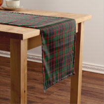 Clan Cumming Cummings Hunting Tartan Plaid Short Table Runner