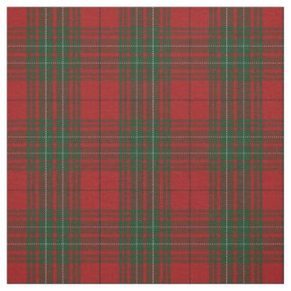Clan Cumming Cummings Red Tartan Plaid Fabric