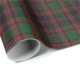 Clan Cumming Cummings Scottish Hunting Tartan Wrapping Paper