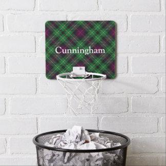 Clan Cunningham Tartan Customize Name Mini Basketball Hoop