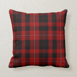 Clan Cunningham Tartan Plaid Pillow