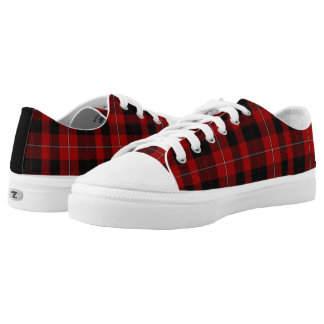 Clan Cunningham Tartan Plaid Tennis Shoes Printed Shoes