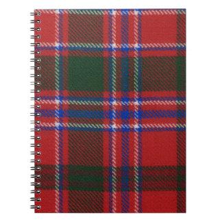 Clan Dalzell Tartan Notebook