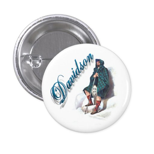 Clan Davidson Scottish Dream Button