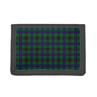Clan Davidson Tartan Tri-fold Wallets