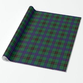 Clan Davidson Tartan Wrapping Paper