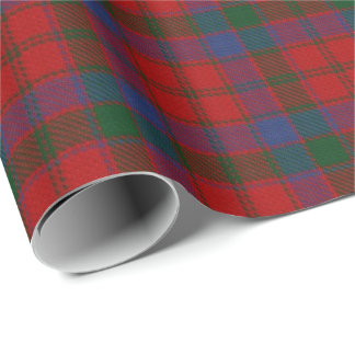Clan Donnachaidh Robertson Scottish Tartan Wrapping Paper