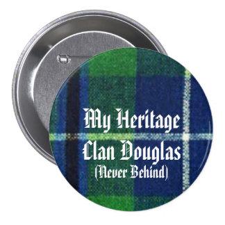 Clan Douglas Heritage Badge, Show Your Colors! 7.5 Cm Round Badge